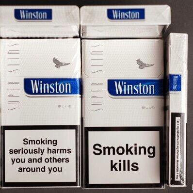 winston super slim cigarette