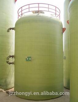 FRP tank for watertreatment/desalination