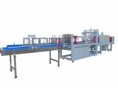Upper and Lower Shrink Film Packing Machine LC-MBS25