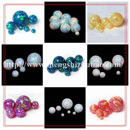 High Quality Synthetic Fire Opal Gems On Sale Factory Price