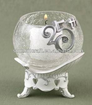 Customized candle holders for wedding