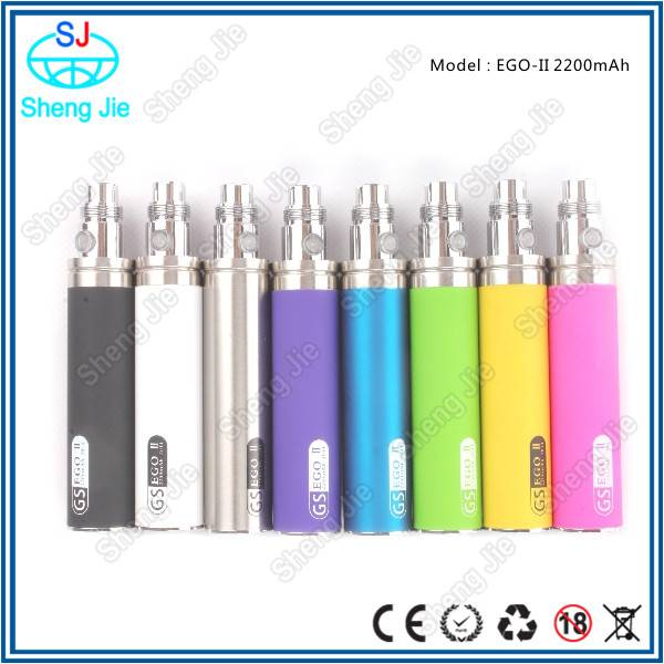 Original Big battery electronic cigarette hot selling 2200mah ego battery