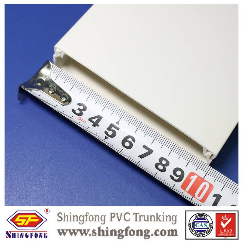 export full size pvc telecom cable trunking
