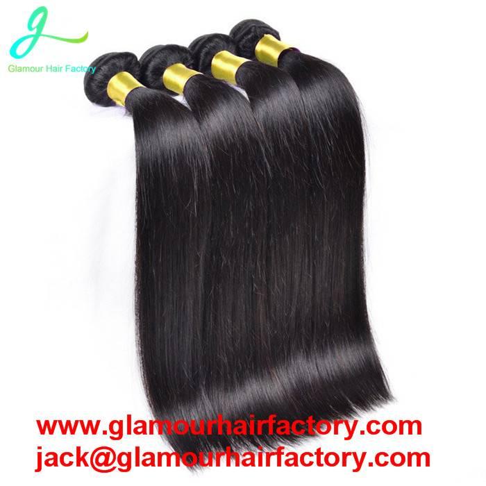 Brazilian Virgin Hair Straight Unprocessed Virgin hair bundles hair weave