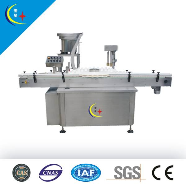 YXT-A Full-auto single head press capping machine