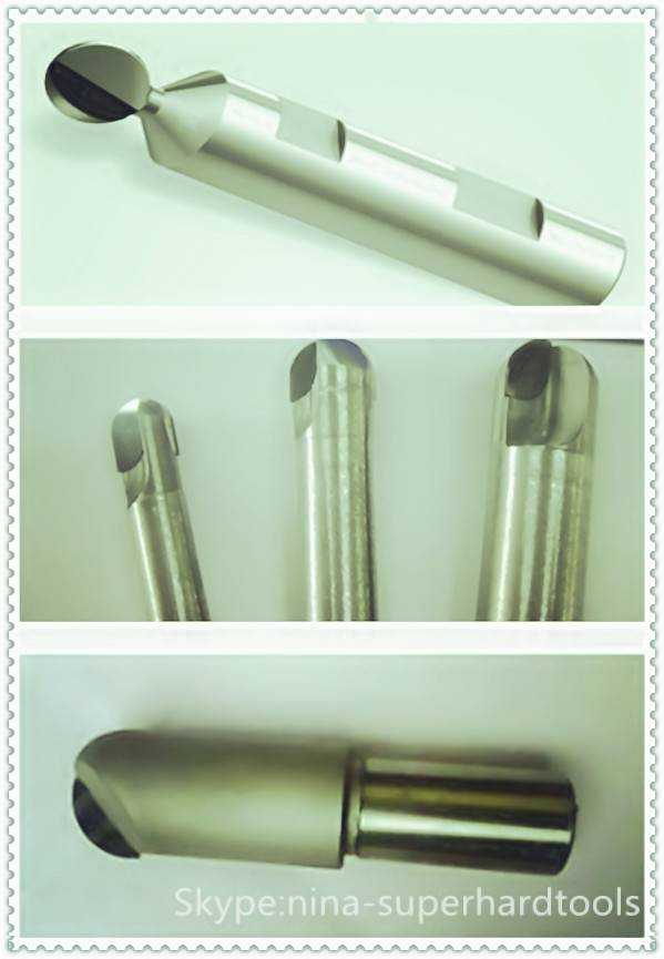 PCD ball nose milling cutters