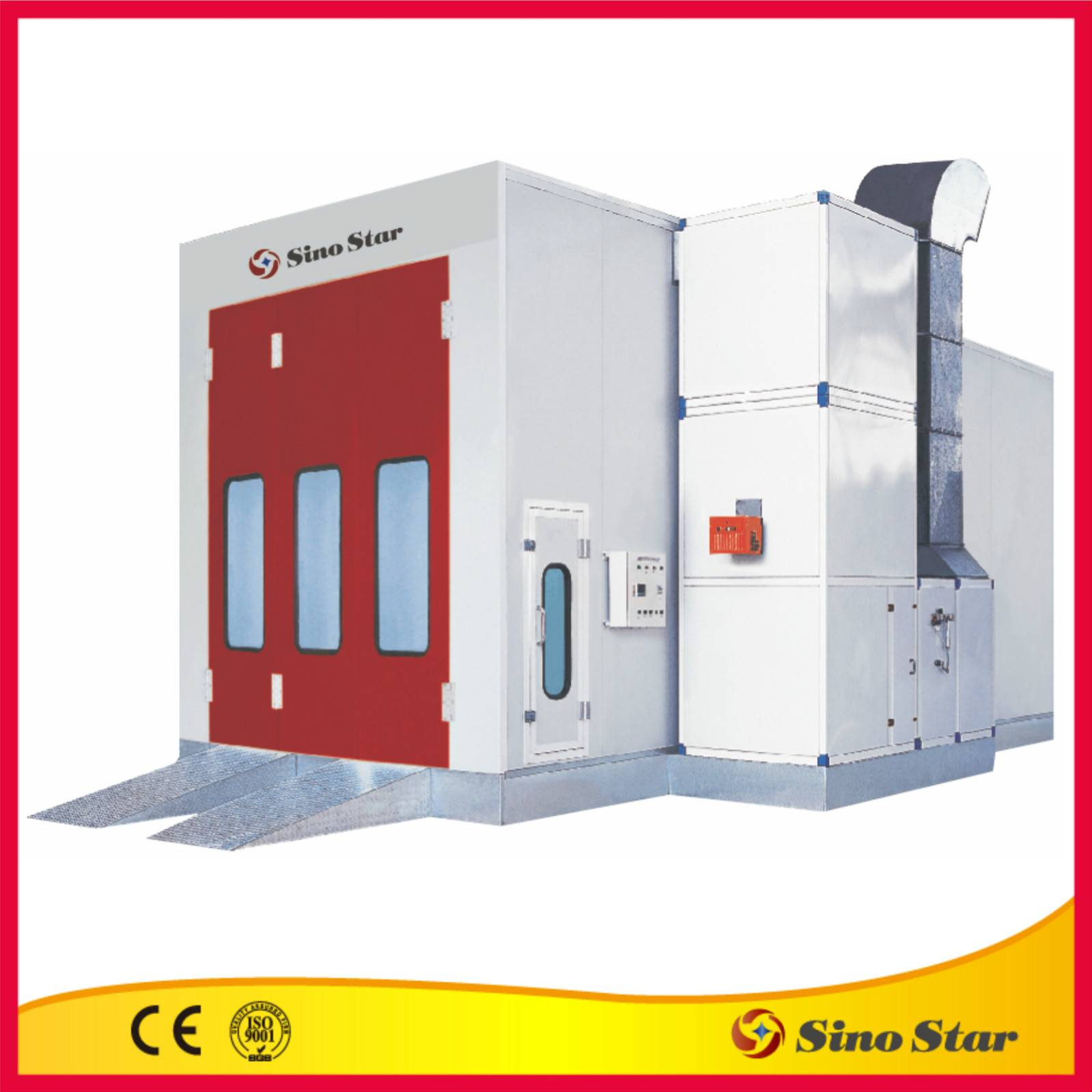 spray booth and baking booth (SS-7203-CE)