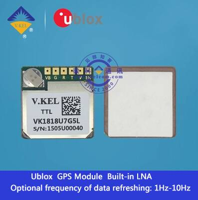 VK1818U7G5L GPS Navigator Module Ultra-small Size DVR with High Sensitivity for Vehicle OEM/Wholesal