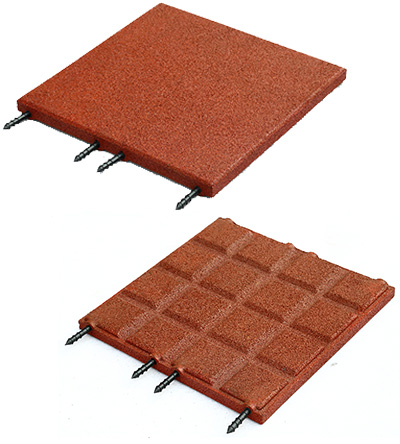 The type 500 s rubber tile