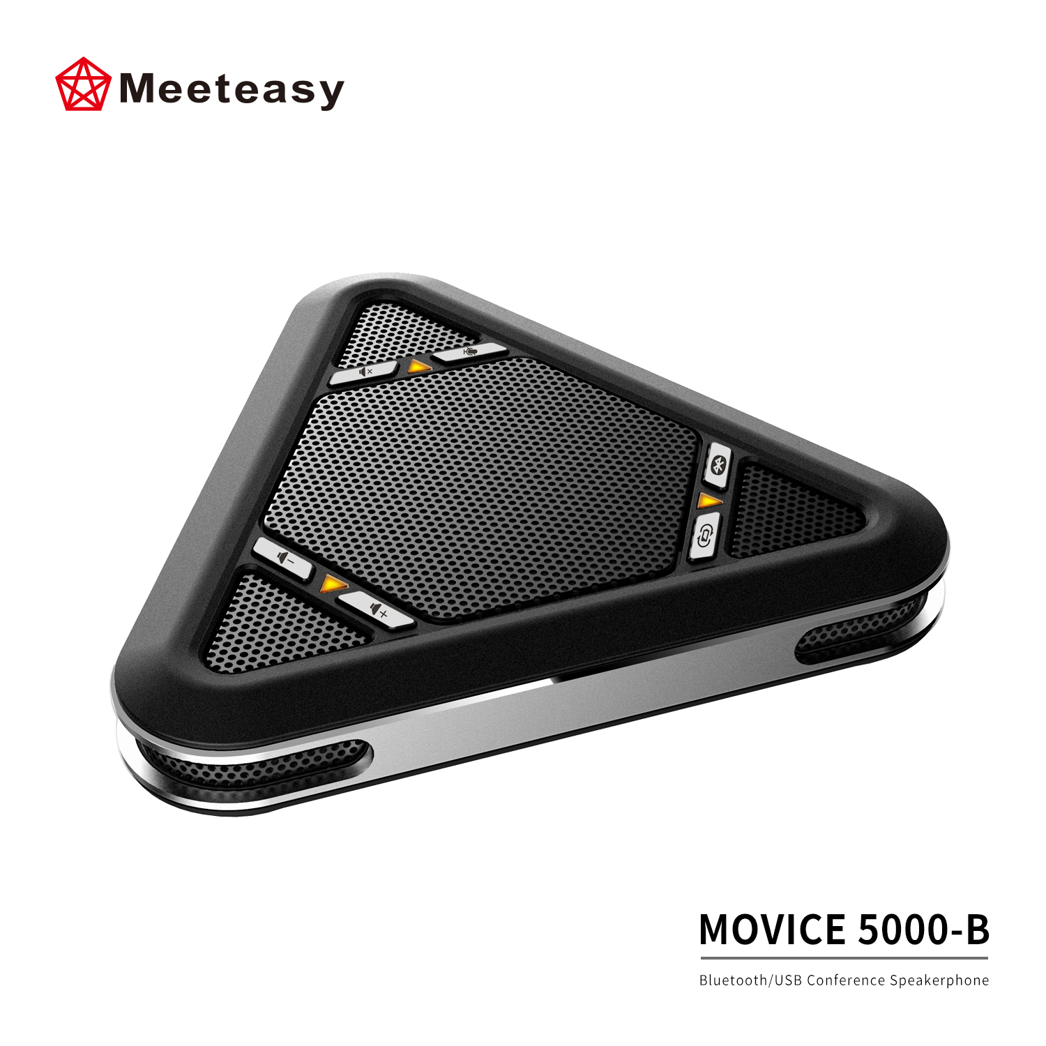 Meeteasy MVOICE 5000-B Portable Wireless BT USB conference speakerphones For business conferencing