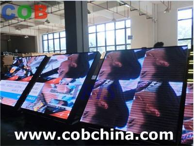 indoor rental led display for concert stage aluminum cabinet display flexible led display