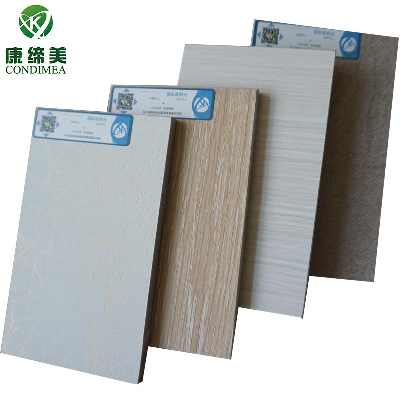Condimea fibre cement board with PVC decorative film