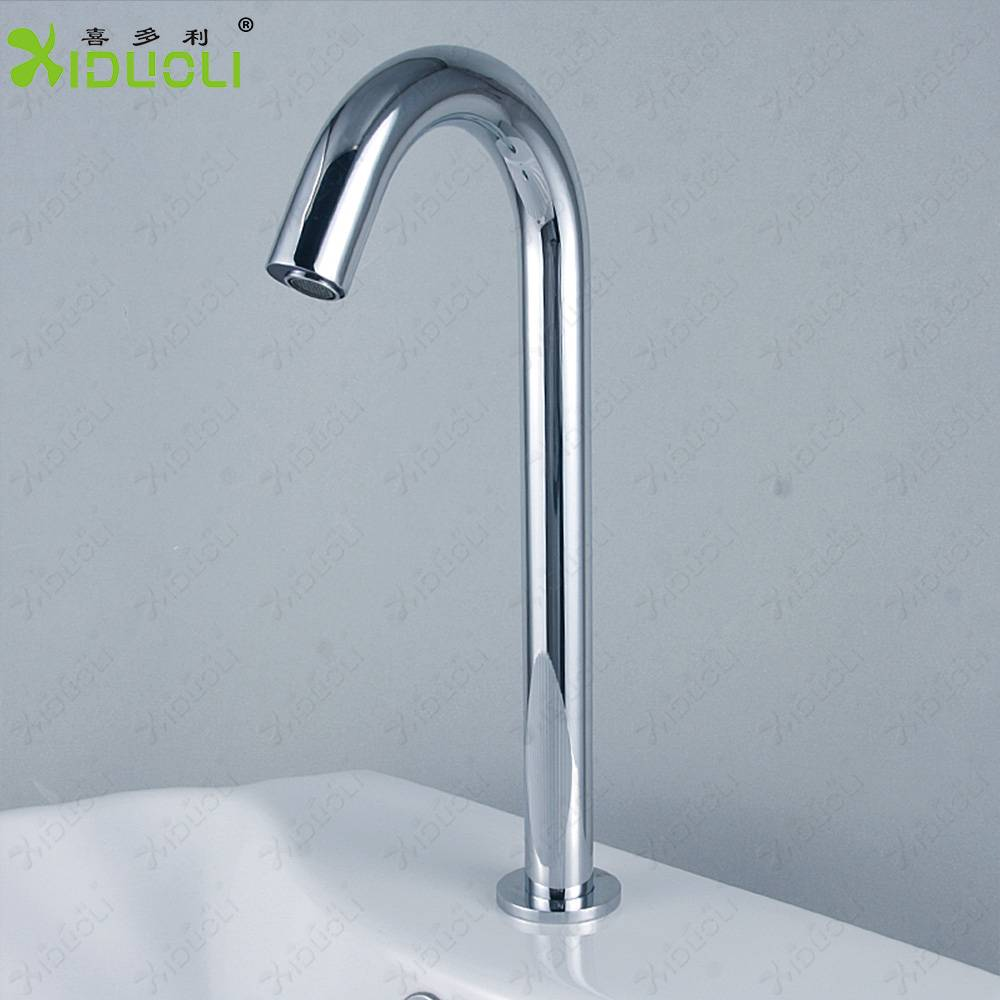 High Quality infrared sensor automatic basin faucets with cold water