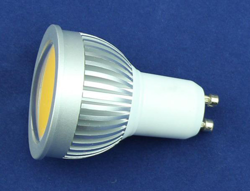 wide angle aluminium holder G5.3/10 5W LED spotlight
