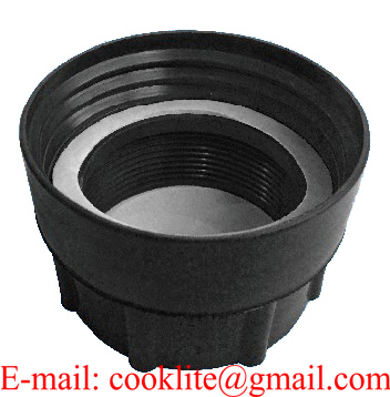 """PP IBC Tank Adapter/Fitting DIN 71 Female to 2"""" BSP Female Plastic Drum Coupling"""