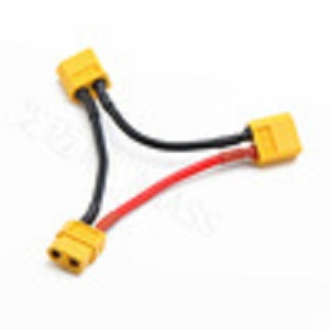 AMASS Serial harness for two batteries XT60,2+4 connector