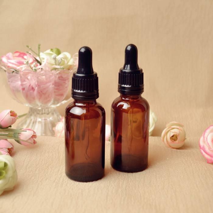 30ml amber glass essential oil bottle glass dropper bottle