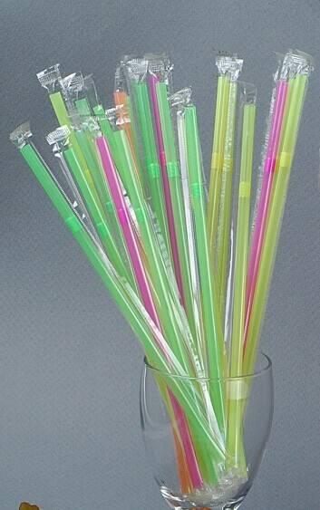 Disposable Drinking Straws Flexible Straws