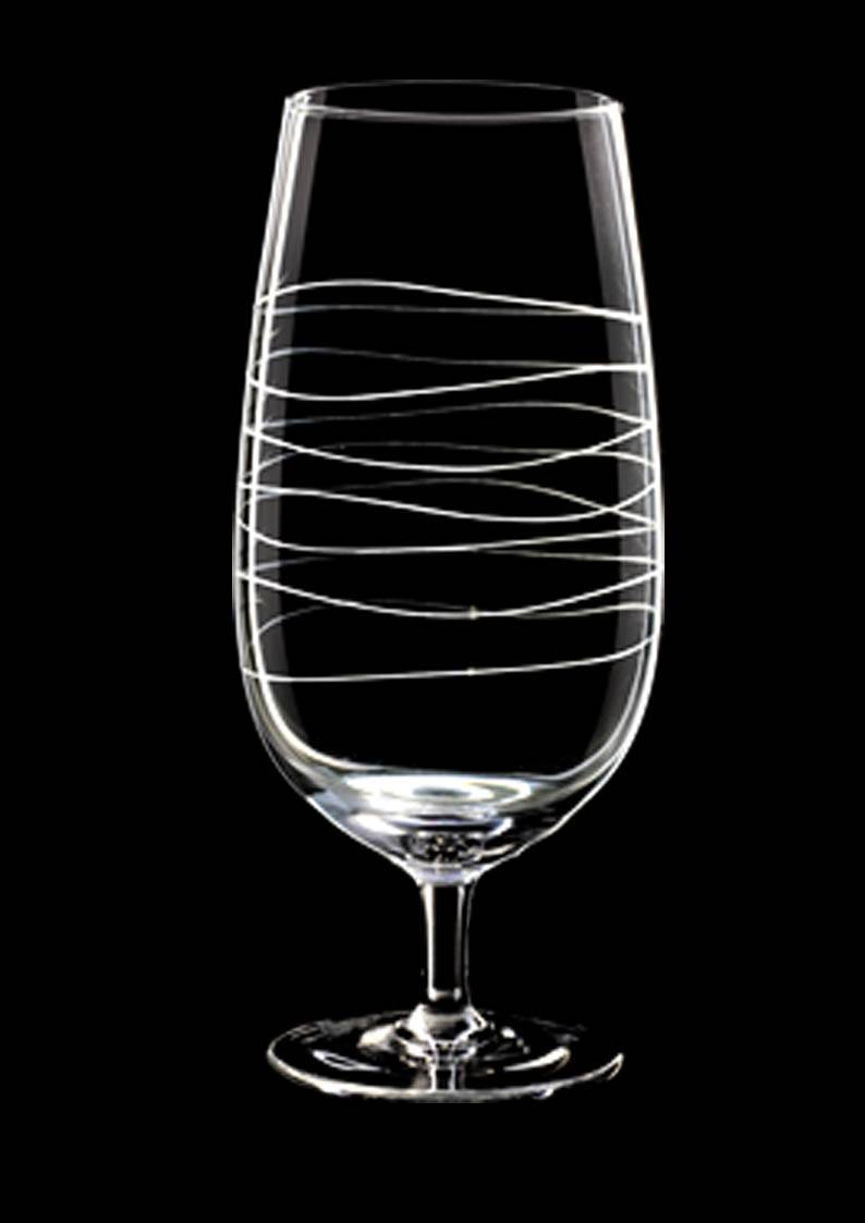 Wholesale hand blown custom airline drinking wine glass