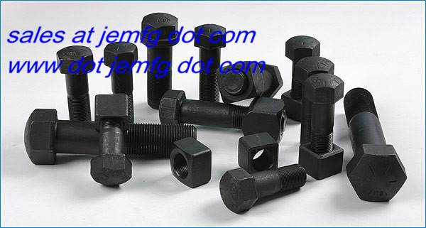 40Cr  track bolt with nut segment bolt carriage bolt general fastener