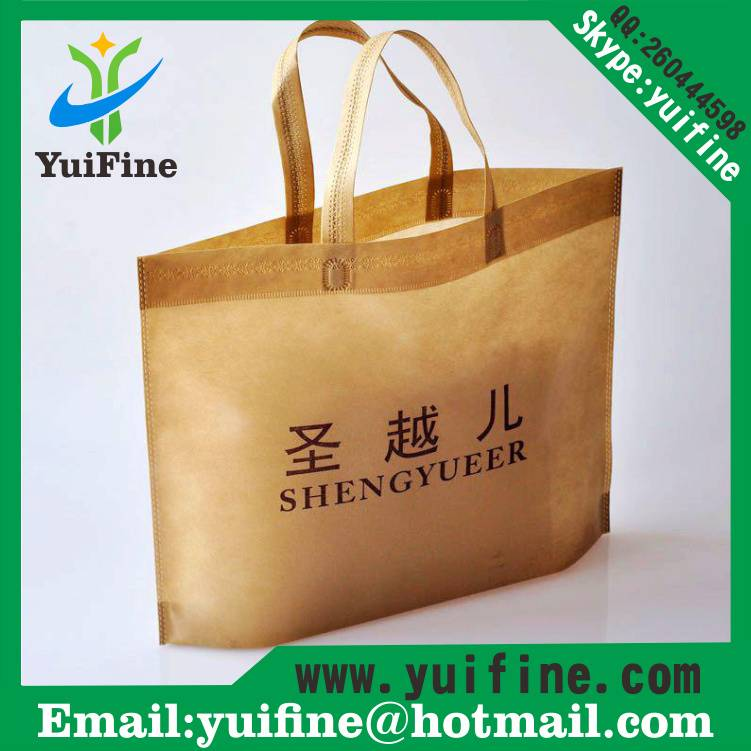 Non Woven  Bag Reusable  Handbag Nonwoven Shopping Bag/Advertising Bag Customized LOGO gift bag