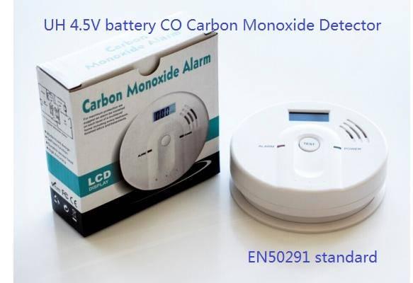 LCD Carbon monoxide alarm/CO detector
