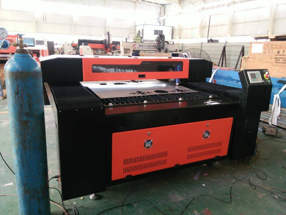 Metal and Non-metal Laser Cutting Machine