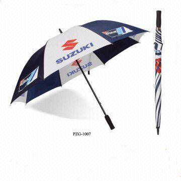 Promotional golf umbrella for SUZUKI MOTOR