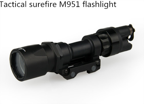 wholesale 120 lumens white light adjust focus optics military mini tactical led flashlight