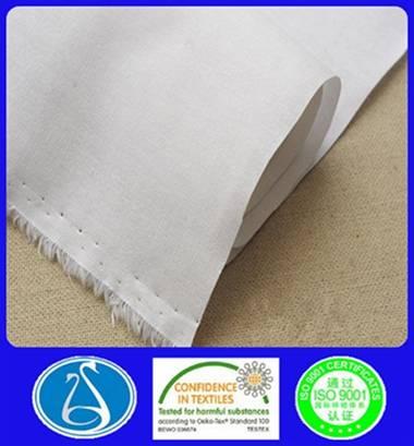high quality shirt woven cotton interlinings 2060