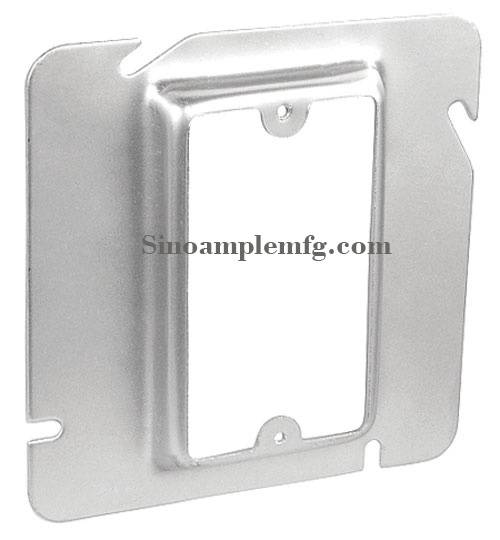 "5/8"" Raised 6"" Square One Gang Device Covers (SCV-20500)"