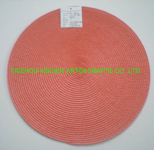 Round Placemats Waterproof Oilproof YS-PP12-006R