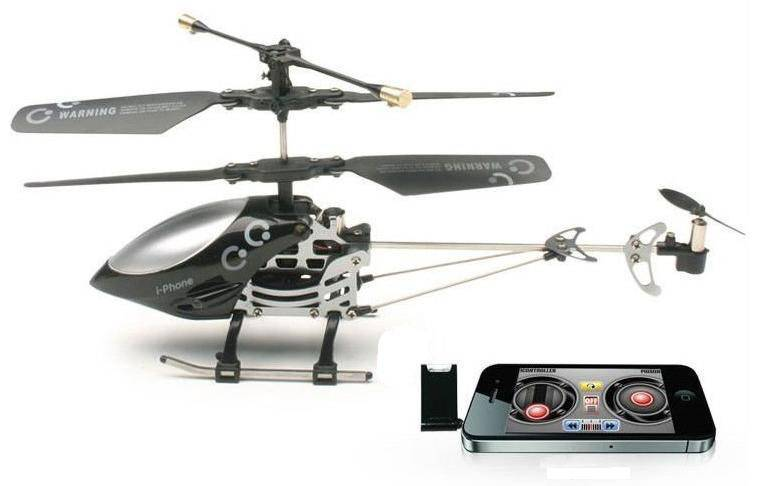 Iphone/iPad control helicopter