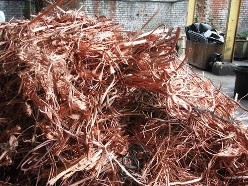 Millberry Copper Wire Scrap of 99.99% Purity in Bales