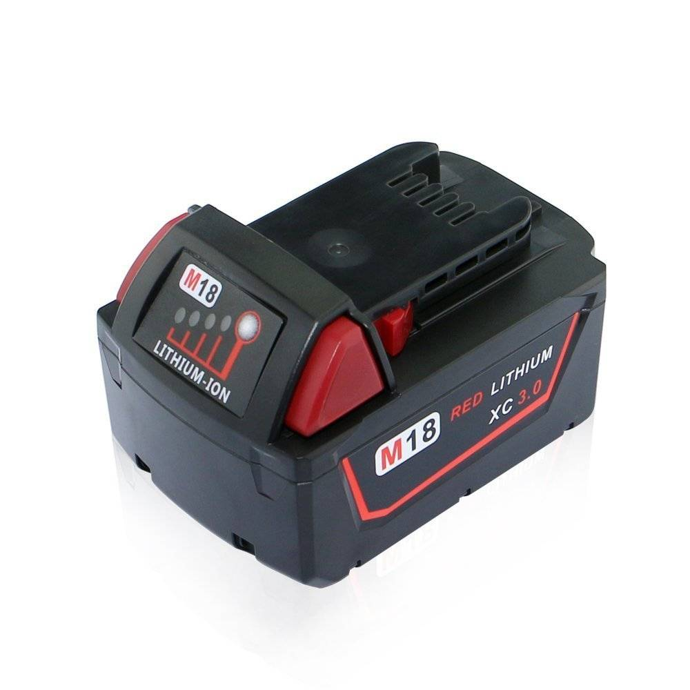 18V 4.0Ah M18 Liion Cordless Tools Replacement Battery for Milwaukee M18 XC 48-11-1815 48-11-1820