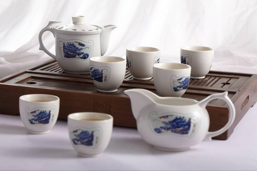 Special porcelain teapot