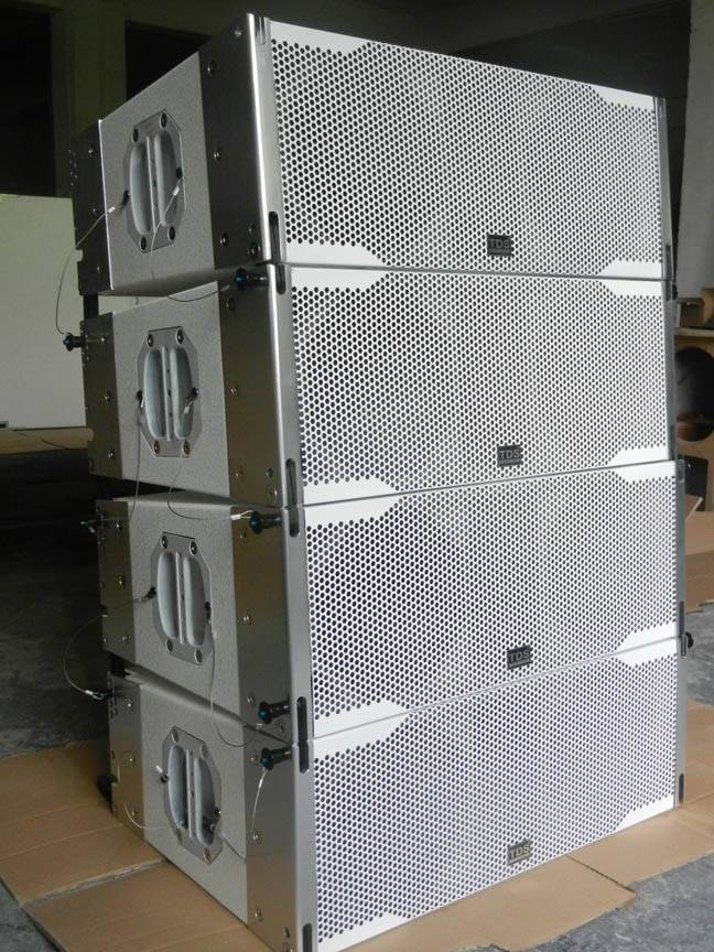 LA 208, Dual  8inch pa Line Array System in white