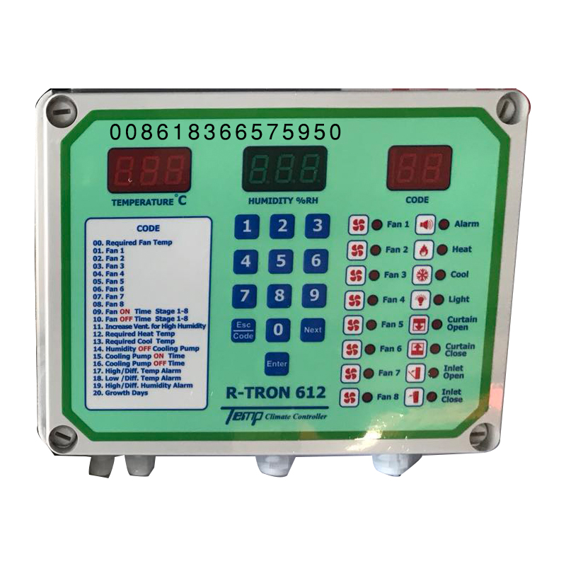 high quality enviromental control device for poultry farm