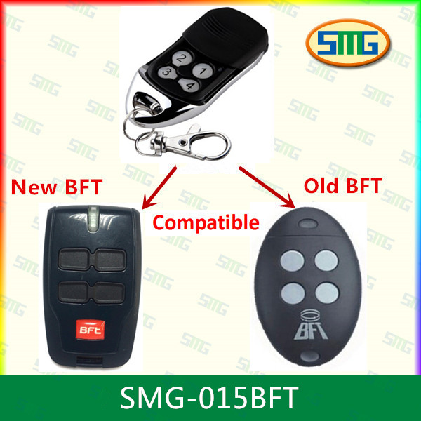 bft mitto 2 gate garage compatible remote control replacement bft 433.92mhz transmitter