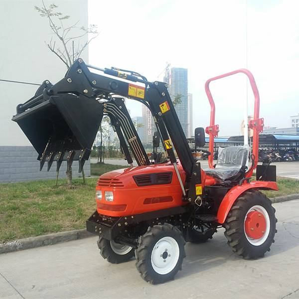 small mini tractor jinma 164y with front end loader
