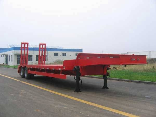 Double Axle Lowbed Semi Trailer