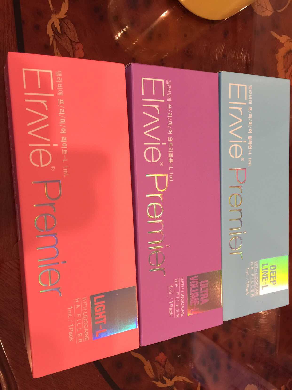 2017 Hot Sale Hyaluronic Acid Elravie Ha Filler Injectable