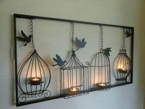 DECOR TL1001 BIRDCAGE Candle Holders