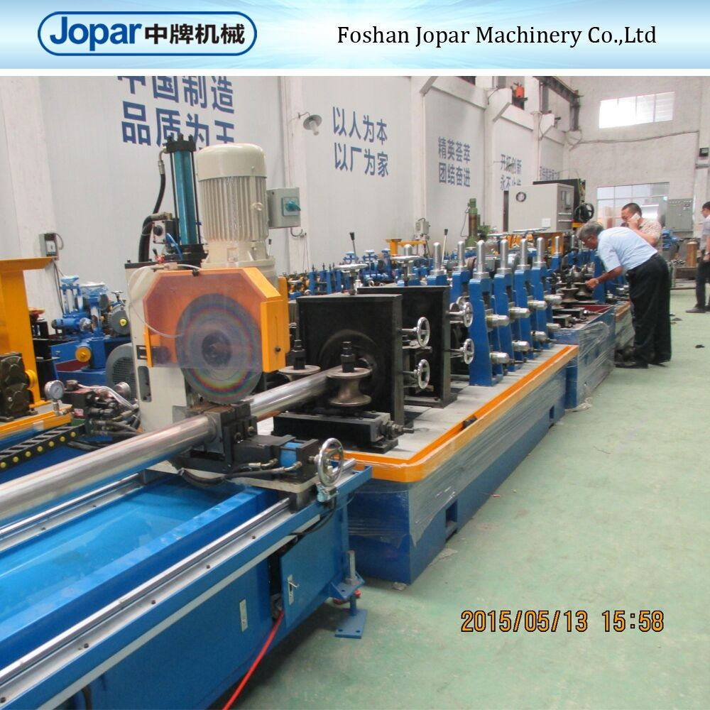 2015 Hot Sale Stainless Steel Tube Making Machinery for Building material in Foshan Joapr
