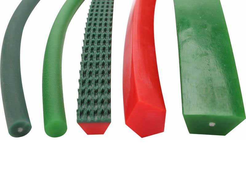 tensile reinforcement polyurethane V-belts pu v-belts