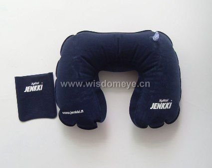 Nice design inflatable neck pillow