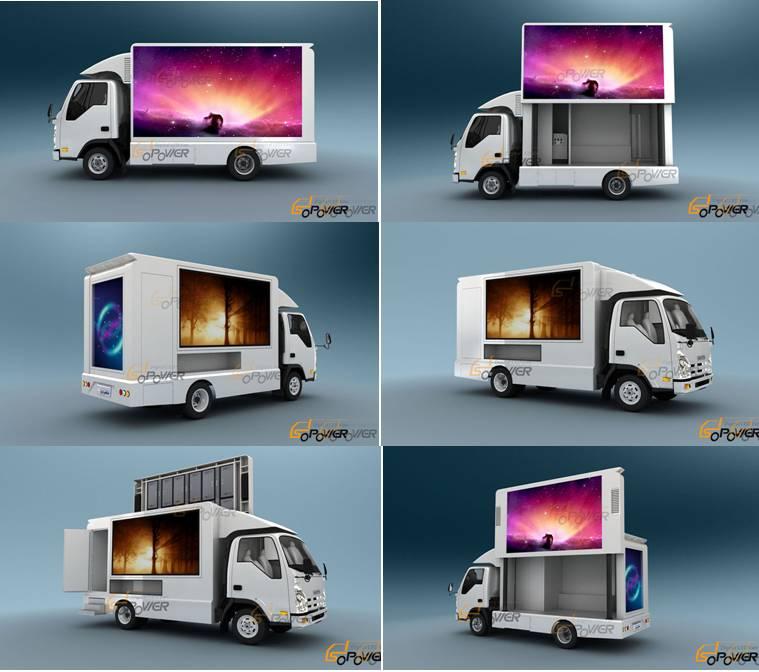 Sopower Light Digital LED Van iTruck 5