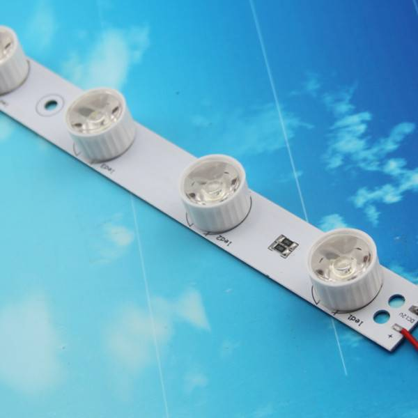 8leds Lighting Box Led Strip With Lens