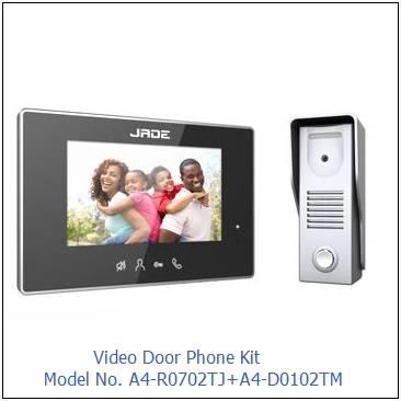 "7"" Video Door Phone, with Pinhole Camera"