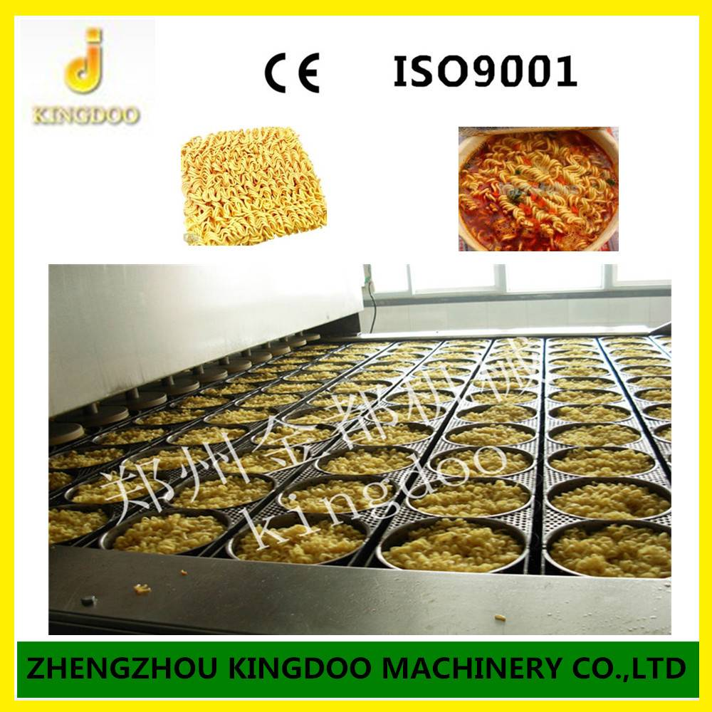 Automatic Factory Price Fried Instant Noolde Machine with New Design